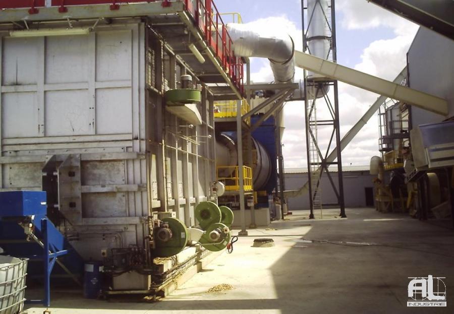 Convoyeur AL Industrie pour cendres - Convoyeur de cendres four biomasse - Filière bois