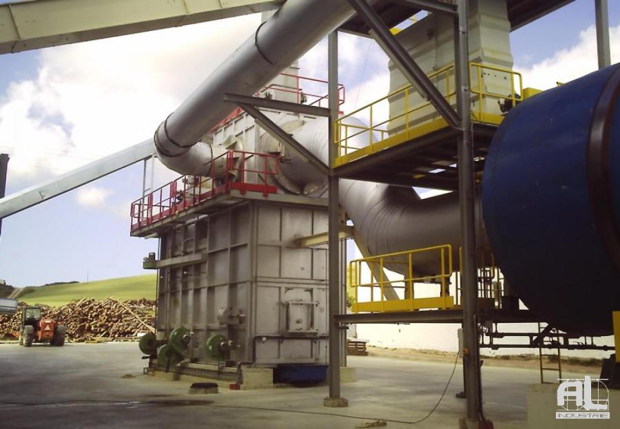 Convoyeur cendrier four biomasse - Convoyeur de cendres four biomasse - Filière bois