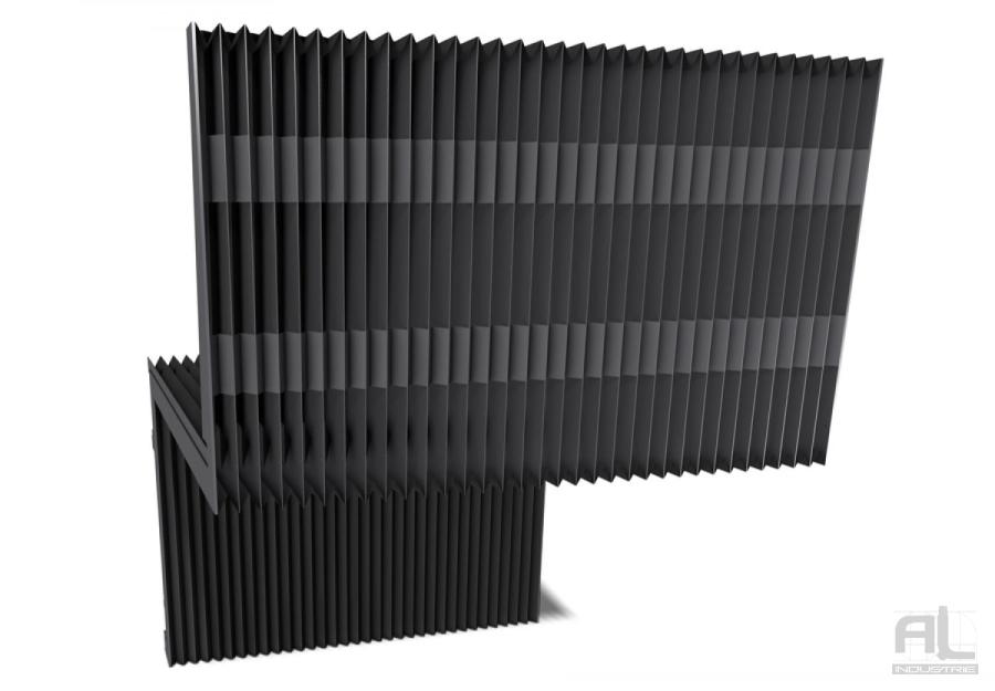 soufflet plissé machine outils - Soufflet toile plissé - Soufflets de protection