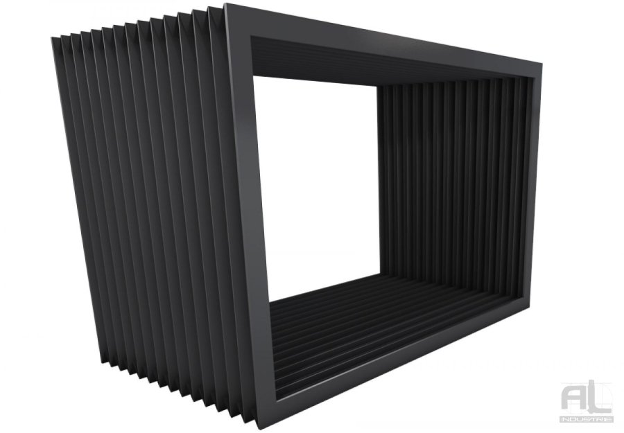 soufflet plissé table elevatrice - Soufflet toile plissé - Soufflets de protection