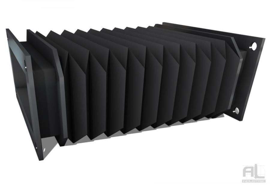 soufflets de protection sur mesure - Soufflet toile plissé - Soufflets de protection