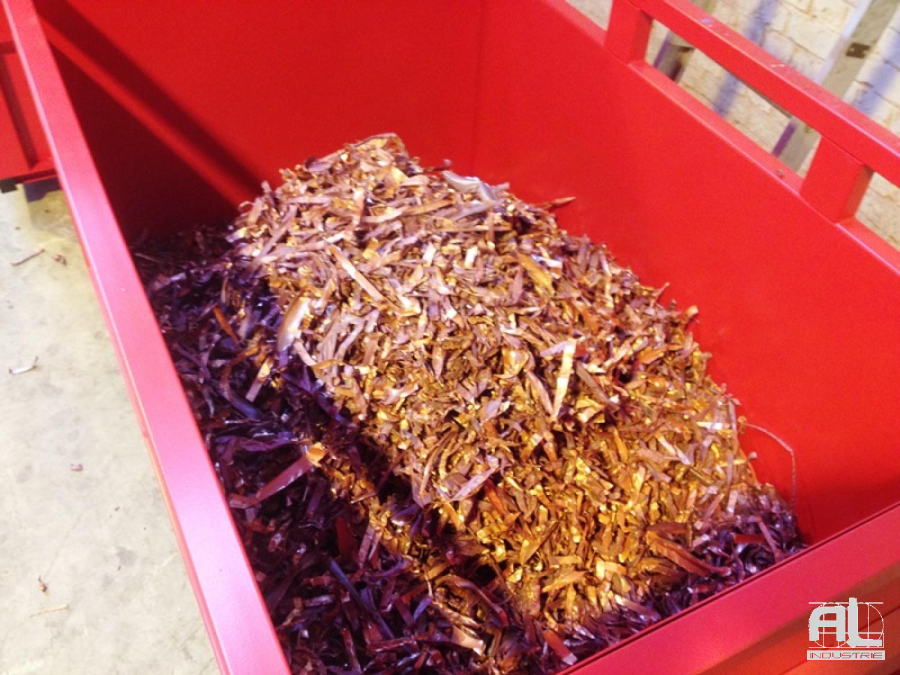 Convoyeur déchets cuivre - Convoyeurs de déchets plastiques - Recyclage