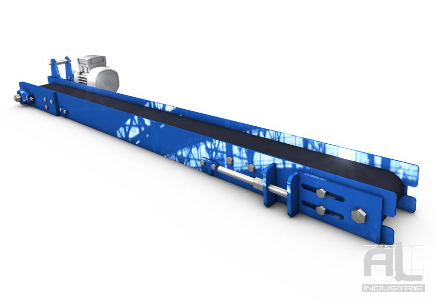 Convoyeur a bande synthetique - Convoyeur a bande série légère - Convoyeurs à bande
