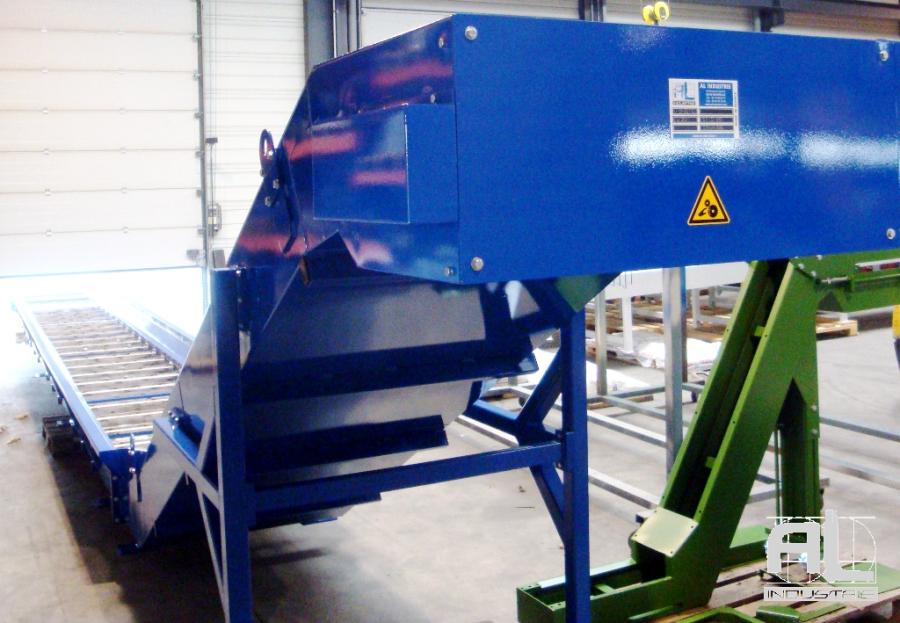Convoyeur transport de cendres - Convoyeur de cendres four biomasse - Filière bois