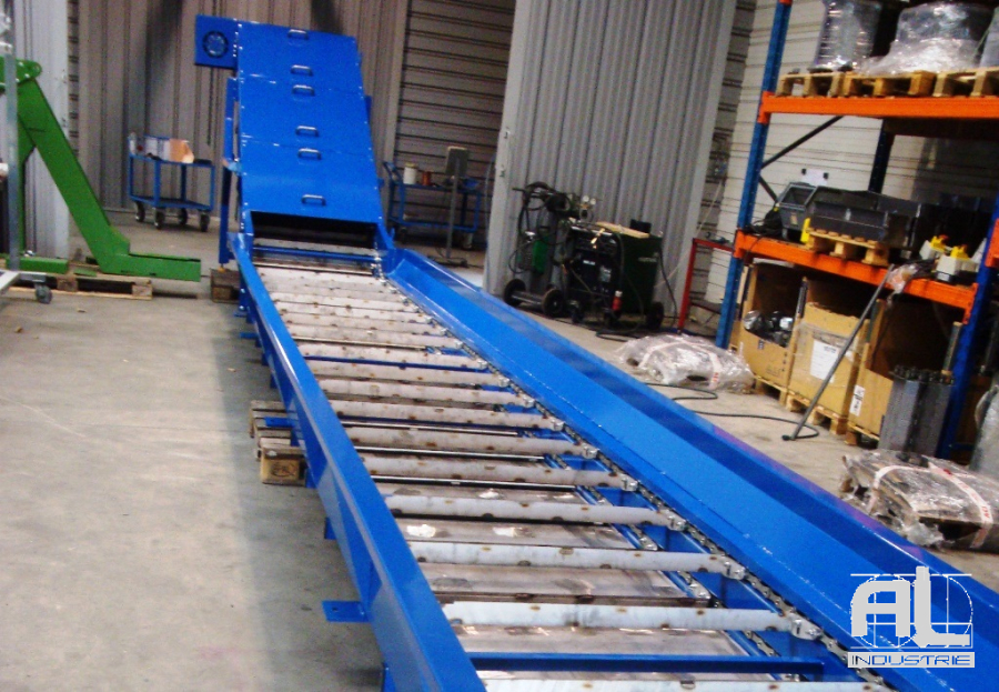 Convoyeur cendres - Convoyeur de cendres four biomasse - Filière bois
