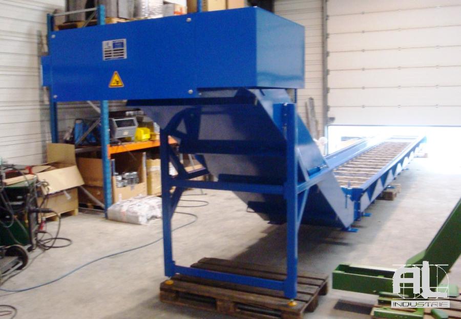 Convoyeur cendre - Convoyeur de cendres four biomasse - Filière bois