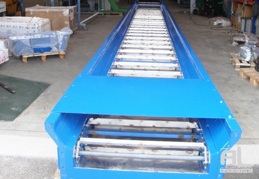 Convoyeur biomasse cendres - Convoyeur de cendres four biomasse - Filière bois