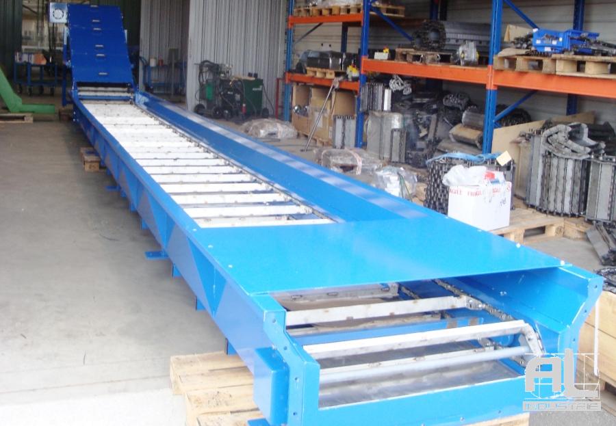 Convoyeur à cendres - Convoyeur de cendres four biomasse - Filière bois