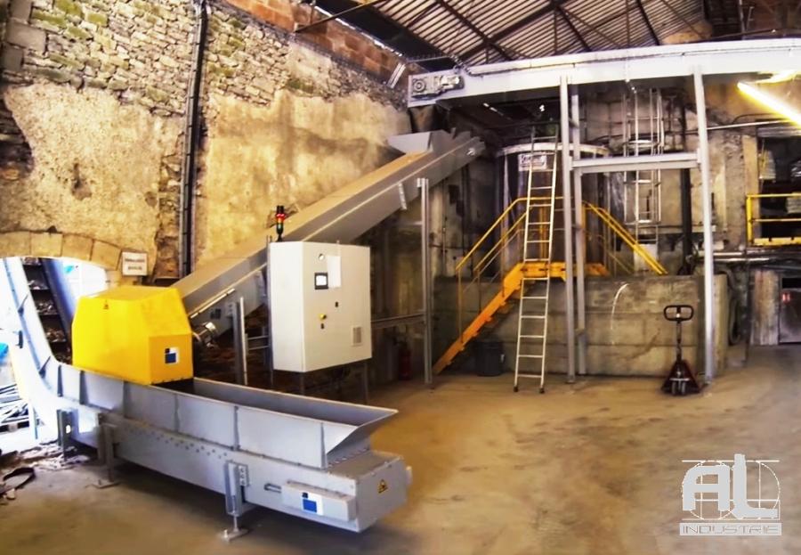 Reseau convoyeur bois - Convoyeur chaudière biomasse - Filière bois