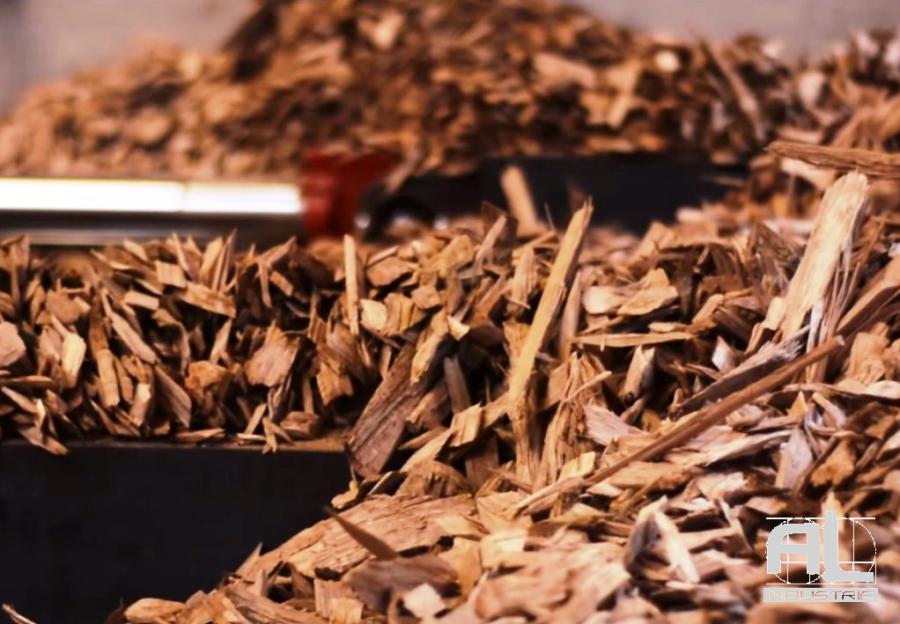 Convoyeur plaquette bois - Convoyeur chaudière biomasse - Filière bois