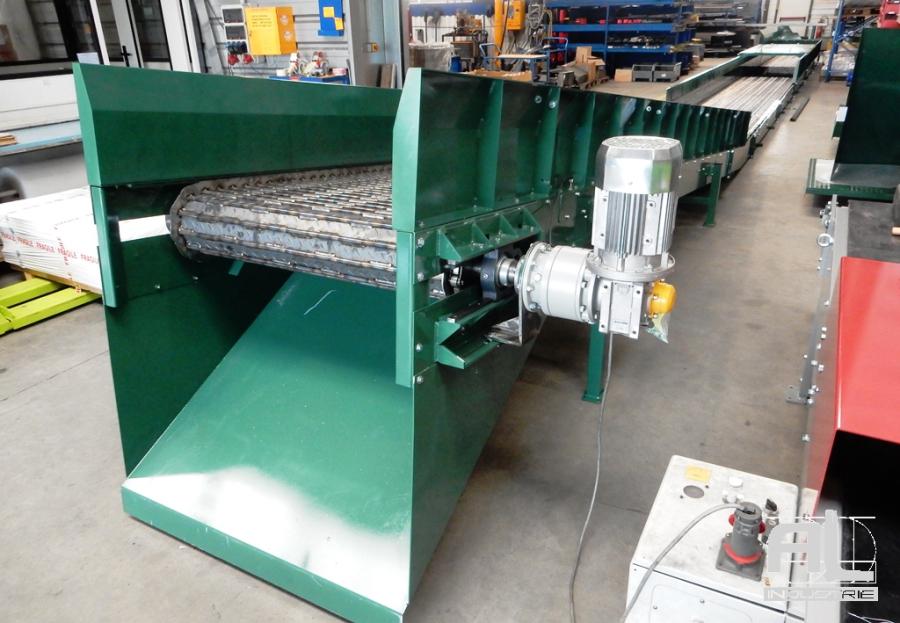 Convoyeur pièces découpe laser - Convoyeur découpe laser - Tôlerie