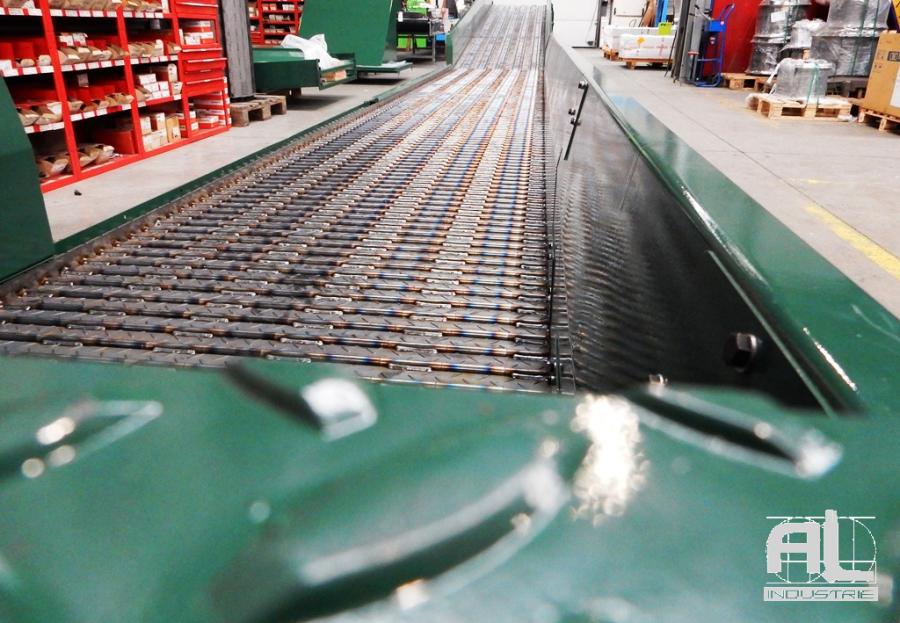 Convoyeurs laser - Convoyeur découpe laser - Tôlerie