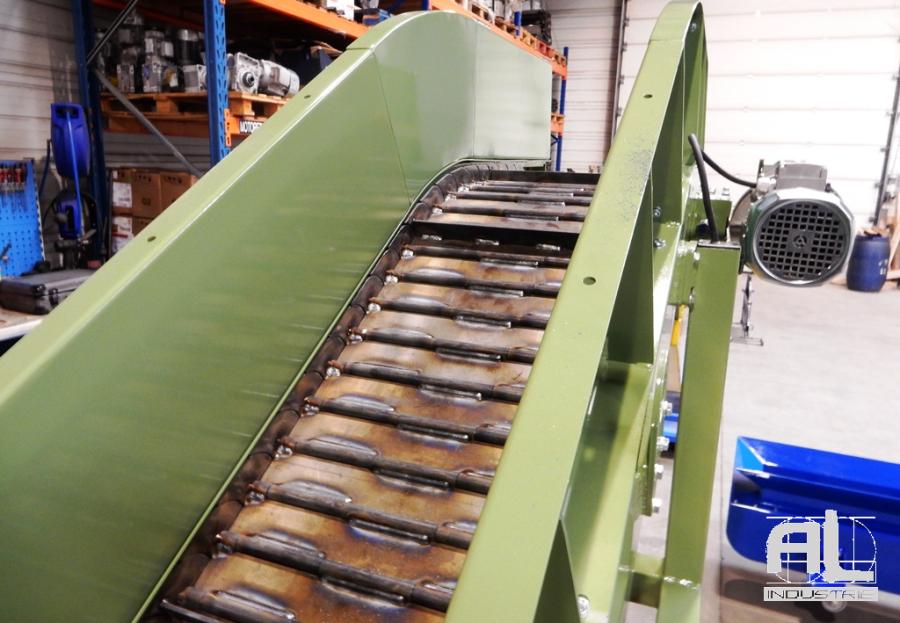 Tapis roulant fonderie - Convoyeur pièces fonderie - Sidérurgie