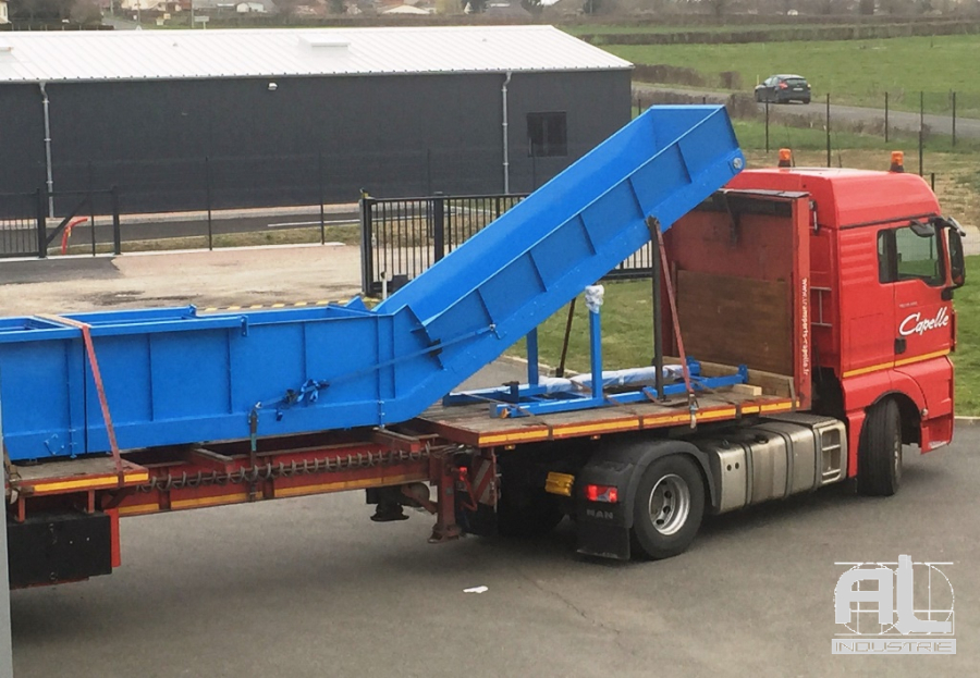 Convoyeur dechets recyclage - Convoyeur recyclage plastique - Recyclage