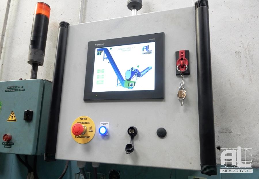 Automate convoyeur tour en fosse - Convoyeur tour en fosse - Mécanique