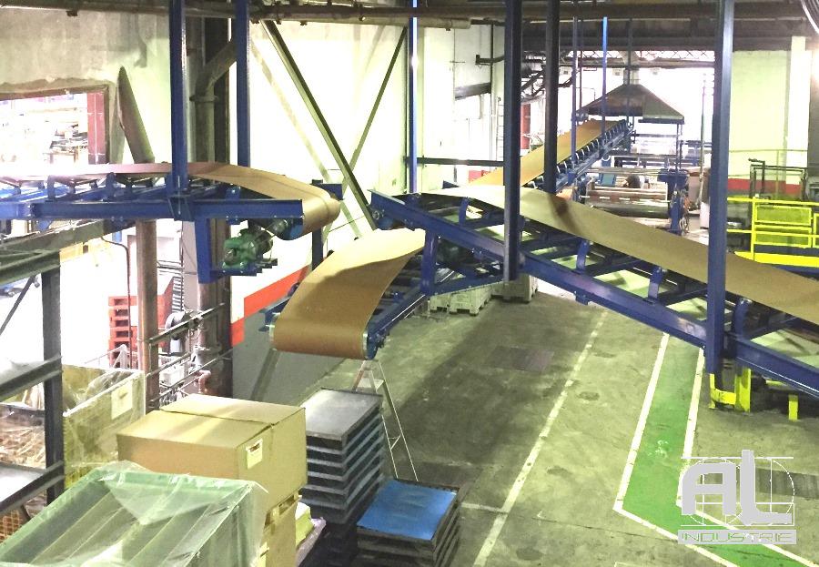 Convoyeurs en auge - Convoyeur bande en auge - Recyclage