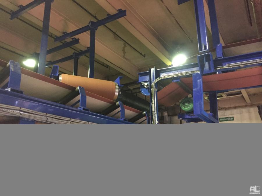 Reseau de convoyage bande en auge - Convoyeur bande en auge - Recyclage