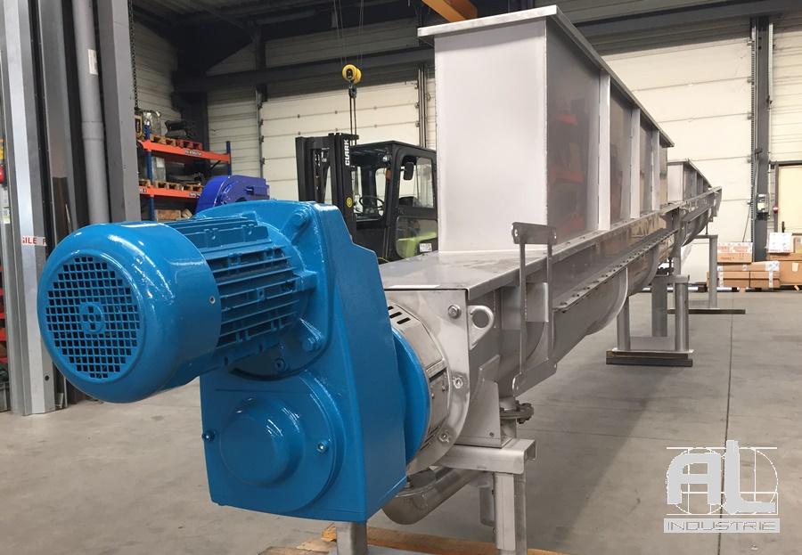 Convoyeur eaux usée - Convoyeur traitement des eaux - Recyclage