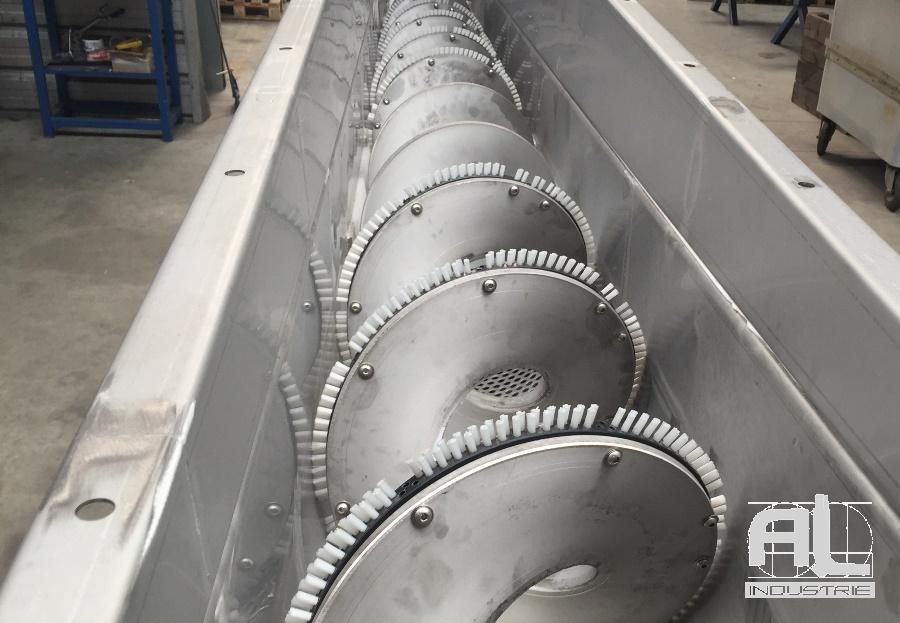 Vis d'archimede - Convoyeur traitement des eaux - Recyclage