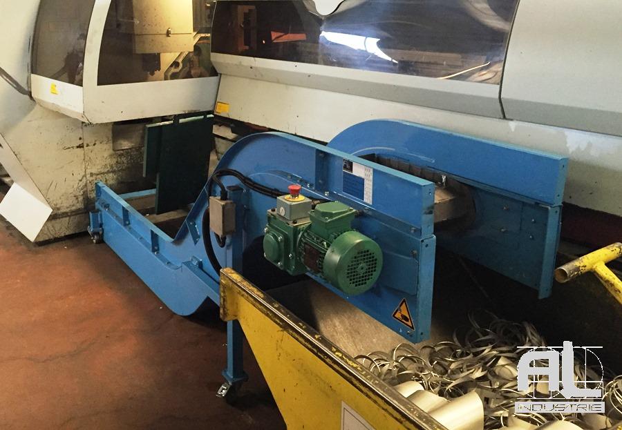 Convoyeur à tapis tube inox - Convoyeur tubes inox - Tôlerie
