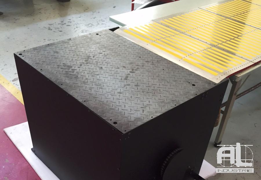 Protecteur de fosse - Couverture fosse machine - Tôlerie