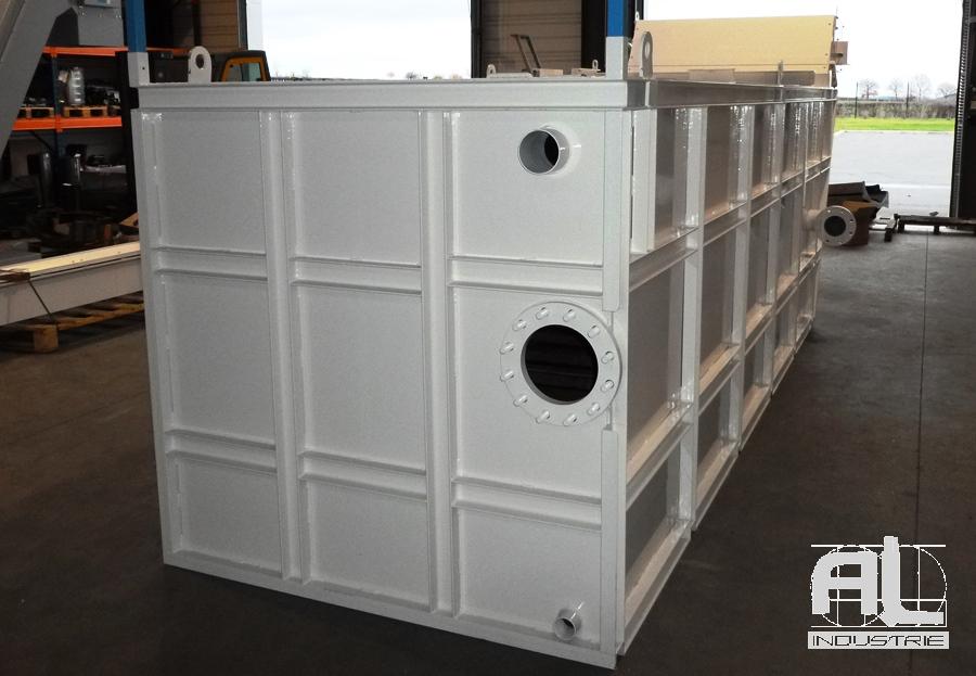 Bac de filtration - Convoyeur bac dragué - Recyclage