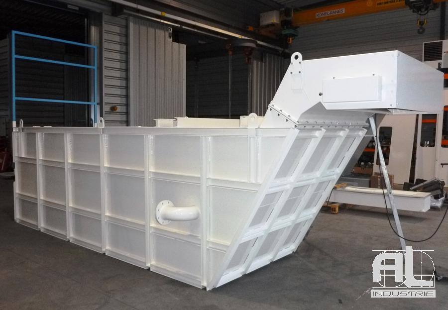 Bac dragué filtration - Convoyeur bac dragué - Recyclage