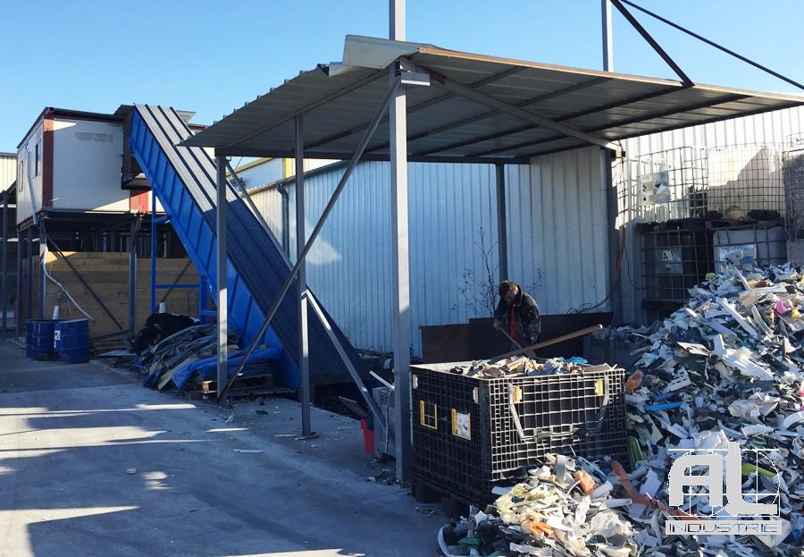 Convoyeur tapis recyclage plastique - Convoyeur recyclage plastique - Recyclage