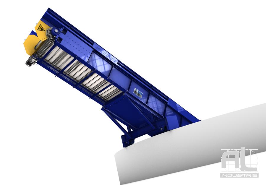 Convoyeur évacuation déchets - Convoyeur évacuation déchets - Recyclage