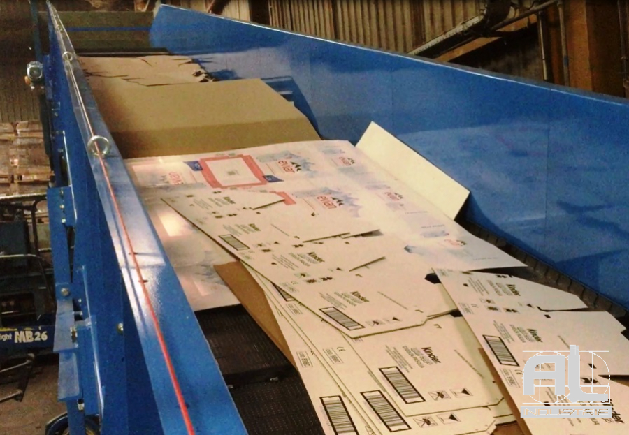 Convoyeur de carton - Convoyeurs cartons - Recyclage