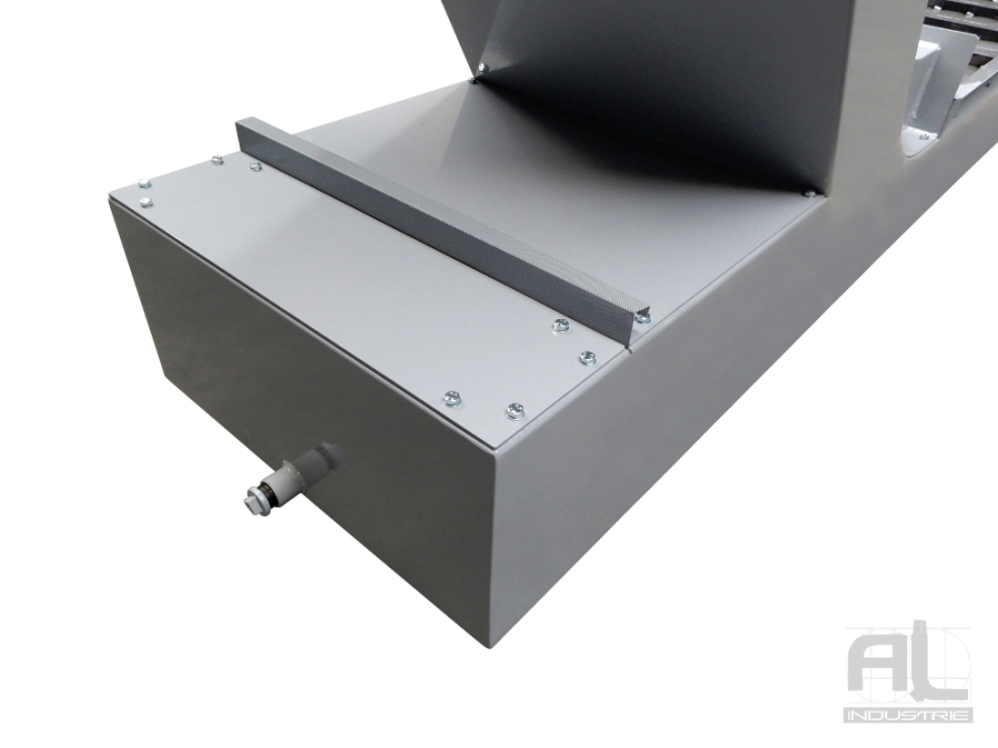 bac-de-filtration-pour-convoyeur - Convoyeur à copeaux tour DUPLO - Mécanique