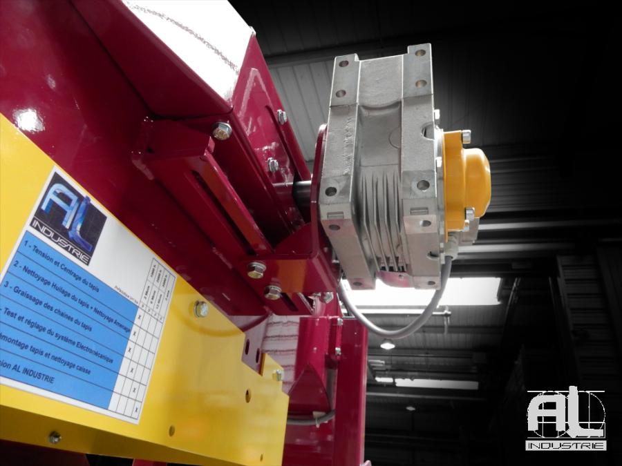 convoyeur machine sciage - Convoyeur à copeaux de sciage - Mécanique