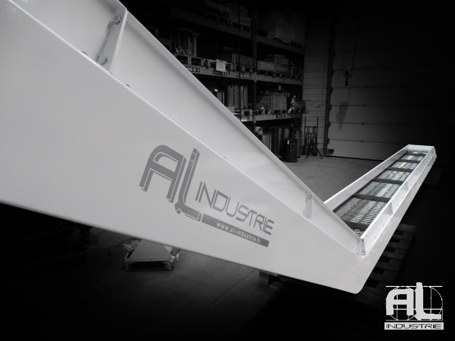 Convoyeur decoupe laser MAZAK - Convoyeur tapis laser MAZAK - Tôlerie