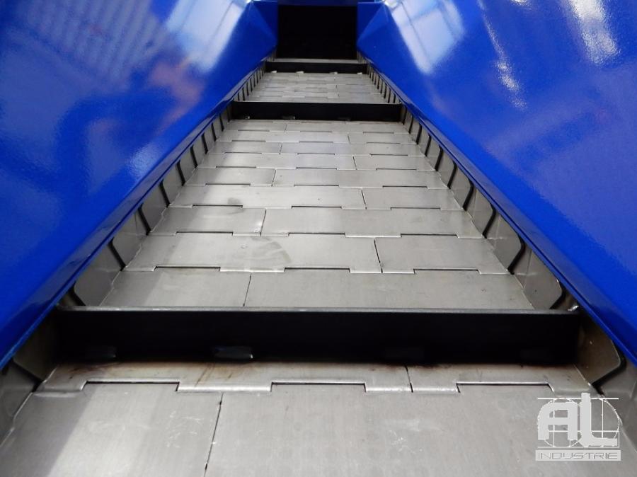 convoyeur tapis metallique sculfort - Convoyeur tour en fosse SCULFORT - Mécanique