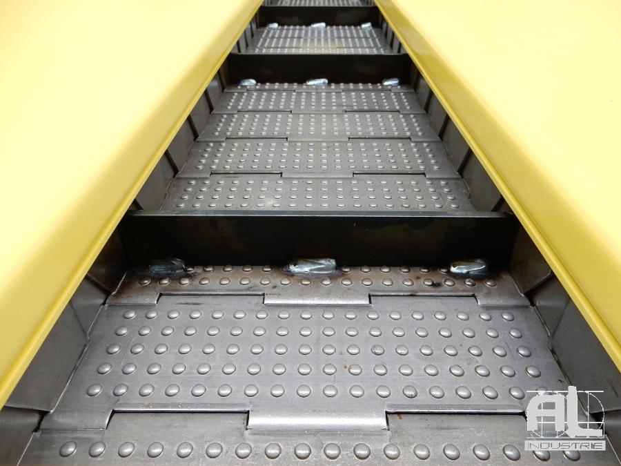 tapis métallique mazak - Convoyeur à tapis MAZAK - Mécanique