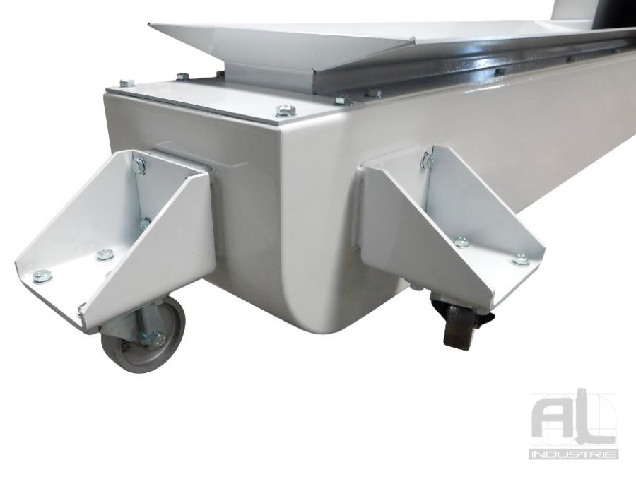 tapis de convoyage métallique - Convoyeur tapis chutes aluminium - Sidérurgie