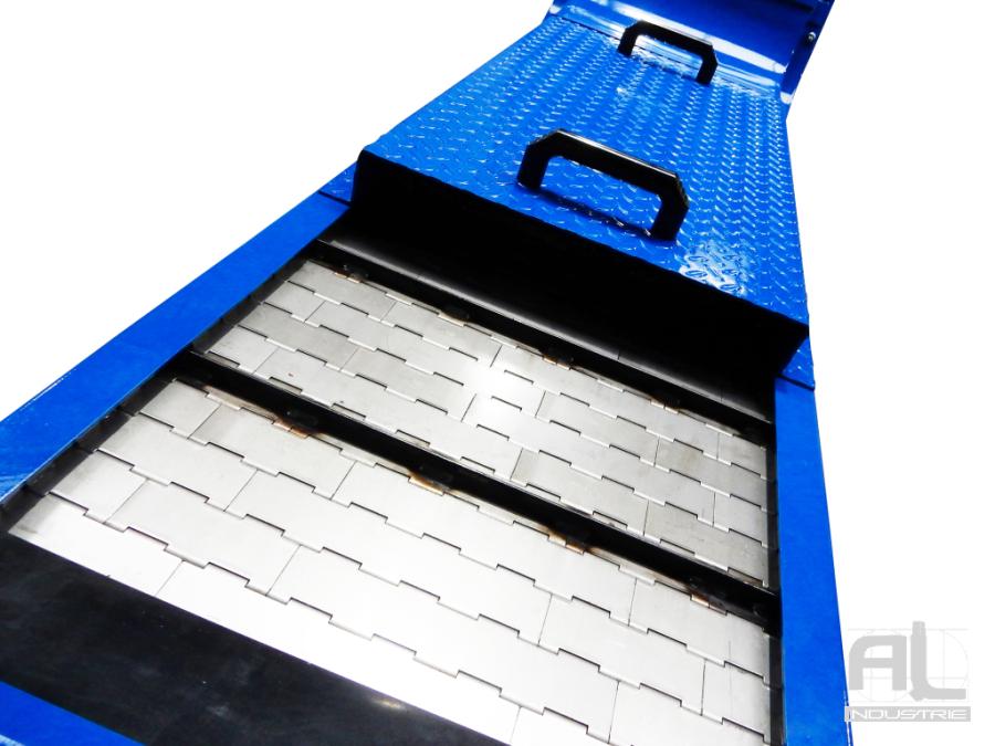 Tapis metallique convoyeur centre brother - Convoyeur tapis machine BROTHER - Mécanique
