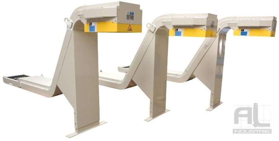convoyeurs tapis metallique MURATEC - Convoyeurs centre MURATEC - Mécanique