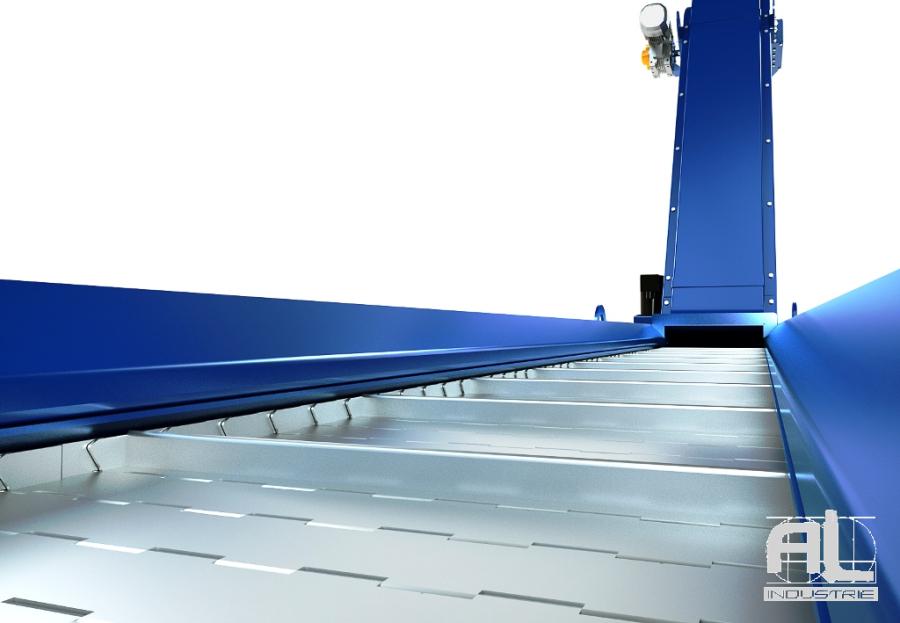 convoyeurs tapis metallique - Convoyeur tapis T38 - Convoyeurs à tapis